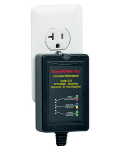 BatteryMINDer Model 1510: 12 Volt 1.5 Amp Maintenance Charger / Desulfator