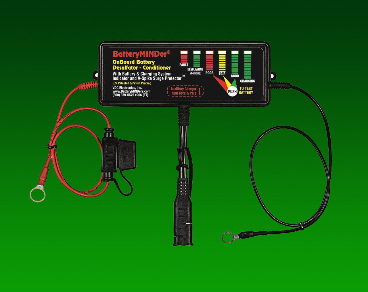 BatteryMINDer® Model OBD-48: 48V On-Board Desulfator