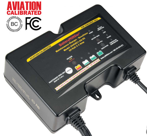 BatteryMINDer® Model 244CEC1-AA-S5:  24V - 2/4/8 AMP Charger-Maintainer-Desulfator