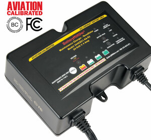 BatteryMINDer Model 244CEC1-AA-S2 24V 2/4/8 AMP 2/4/8 AMP GILL® Aviation Battery Charger/Maintainer/Desulfator