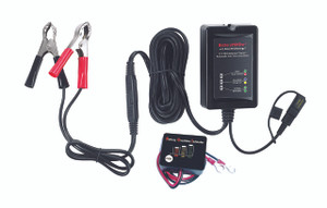 BatteryMINDer® Model 15CEC1B: 12V 1.5 AMP Charger-Maintainer-Desulfator with Push-Button Battery Indicator