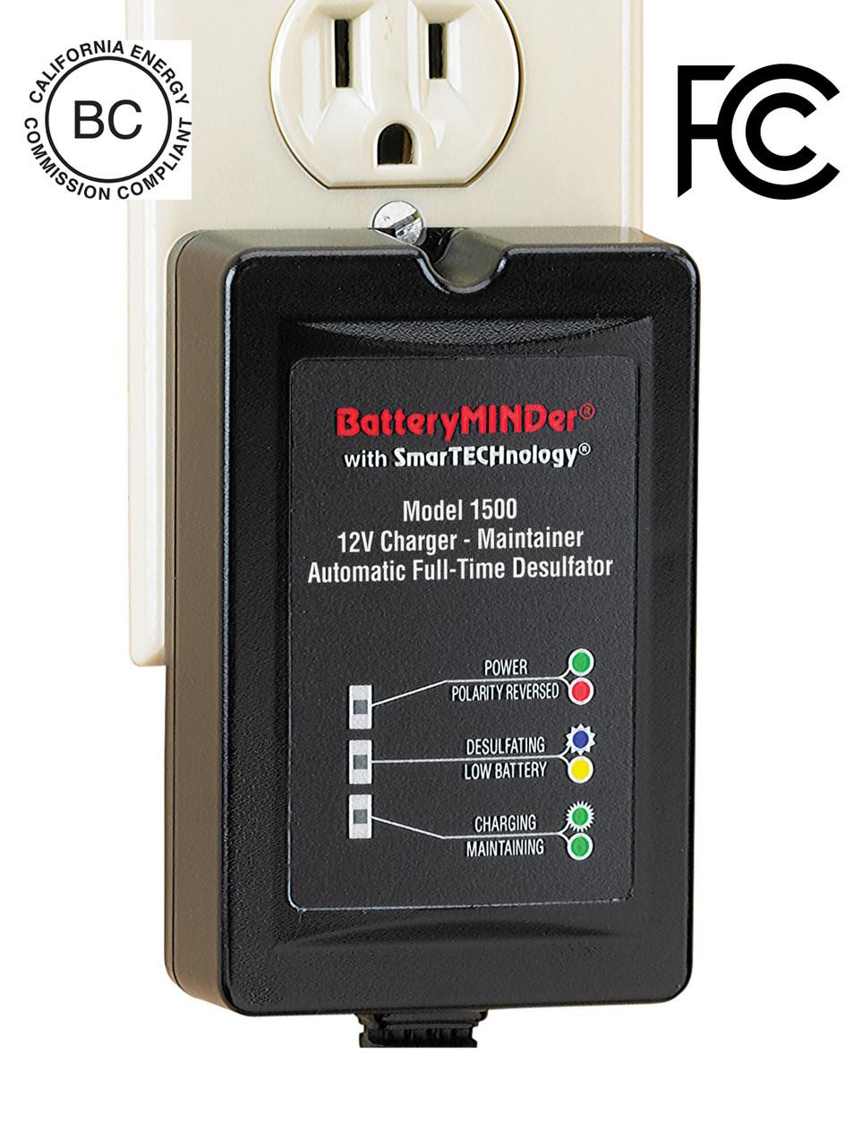 Batteryminder 1500 12 Volt Maintenance Charger Desulfator Upgrading My Rv Battery Bank And System Model 12volt 15 Amp