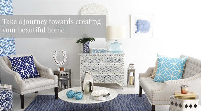 Take a journey towards creating your beautifull home