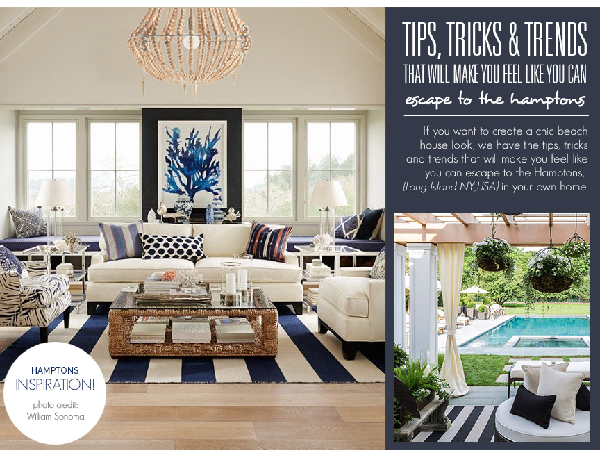 Take me to the Hamptons: Style Guide To Creating A Cool Hamptons ...