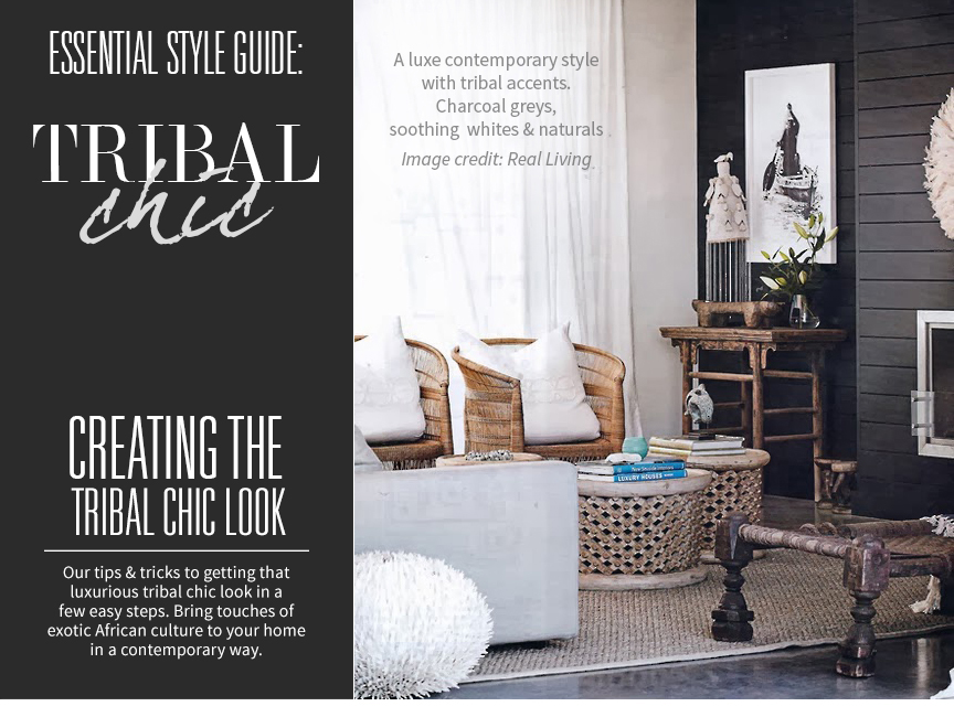 Tribal Chic! Style Guide to Creating a Luxurious Tribal ... - photo#13