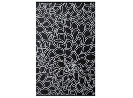 Eden Black & White Outdoor Rug