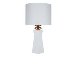 Morgan White Lamp