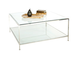 Quadro Nickel Square Coffee Table