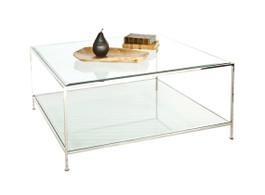 Quadro Nickel Square Coffee Table