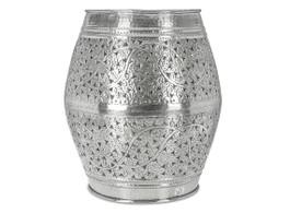 Aluminium Stool - Kashmiri Cutwork
