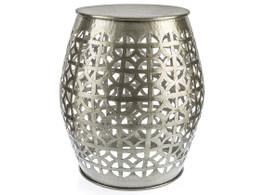 Aluminium Stool - Circular-Cutout