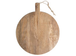 Medium Mango Wood  Round Serving Board
