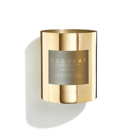 Cocolux Limited Edition Candle: Fig, Orange & Clove - Brass