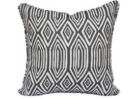 Diamond Lines Linen Cotton Cushion