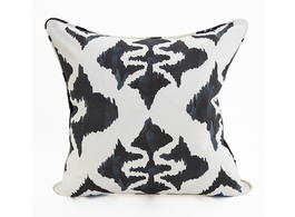 Ink Blot Linen Cotton Cushion