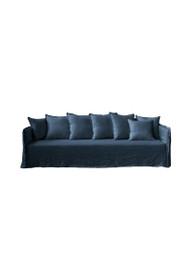 Casper Sofa in Indigo Linen