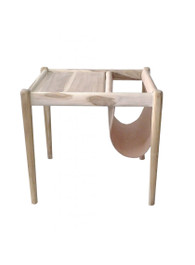 Marvin Side Table in Nude