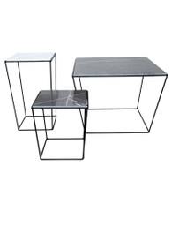 Orlando Table in Black/Grey