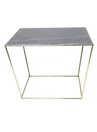 Orlando Table in Brass/Grey