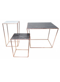 Orlando Table in Copper/Grey