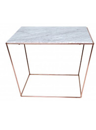 Orlando Table in Copper/White