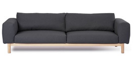 Sigh 4 Seat Sofa in Charcoal