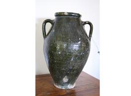 Usak Glazed Wine Urn