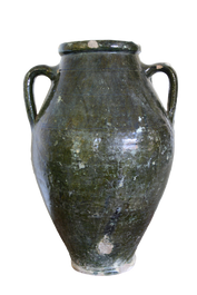 Usak Glazed Wine Urn