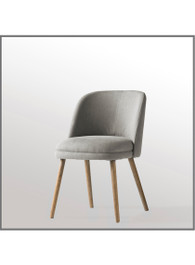 Doma Chair in Oatmeal