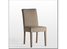 Matelasse Dining Chair in Oatmeal