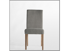 Matelasse Dining Chair in Shale Grey