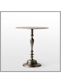 Pewter Aluminium Large Side Table