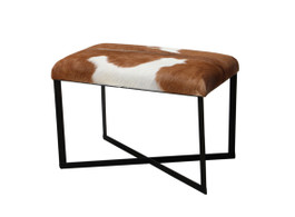 Anouk Brown Goat Stool