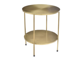 Benny Table in Soft Bronze