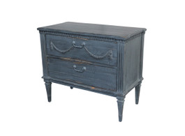Bronte Dresser with 2 Drawers in Blue