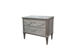 Bronte Dresser with 2 Drawers in Grey