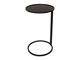 Couch Side Table in Black