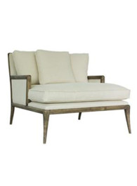 Florence Salon Chair in Linen