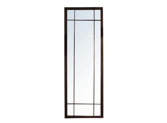 Full Length Iron Grid Mirror