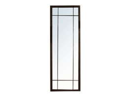 Full Length Iron Grid Mirror