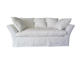 Leitrum Sofa in White