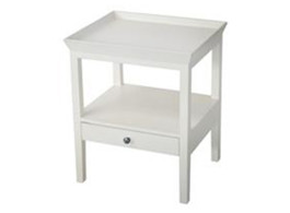 Santiago Table in White