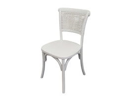 Elsa Classic Kitchen Chair in White