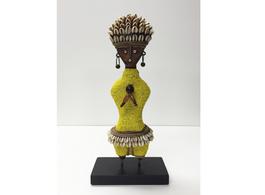 Ndamji Beaded Doll in Yellow