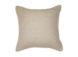 Diamond Weave Cushion in Natural