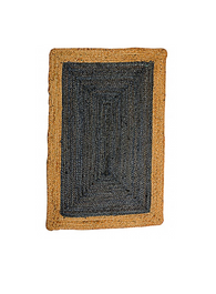 Jute Rug in Phoenix Deep Grey