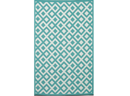 Marina Sea Green & White Rug