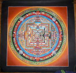 Kalachakra Mandala in Yellow