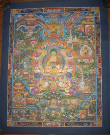 Life of Buddha Traditional Art Work