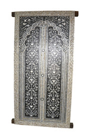 Mother of Pearl Inlay Doors in Black